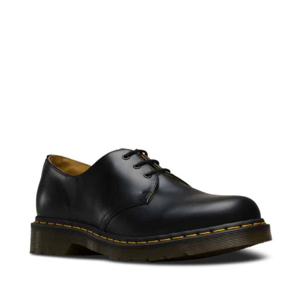 Dr. Martens 1461 Black Smooth 3-Eye Shoe