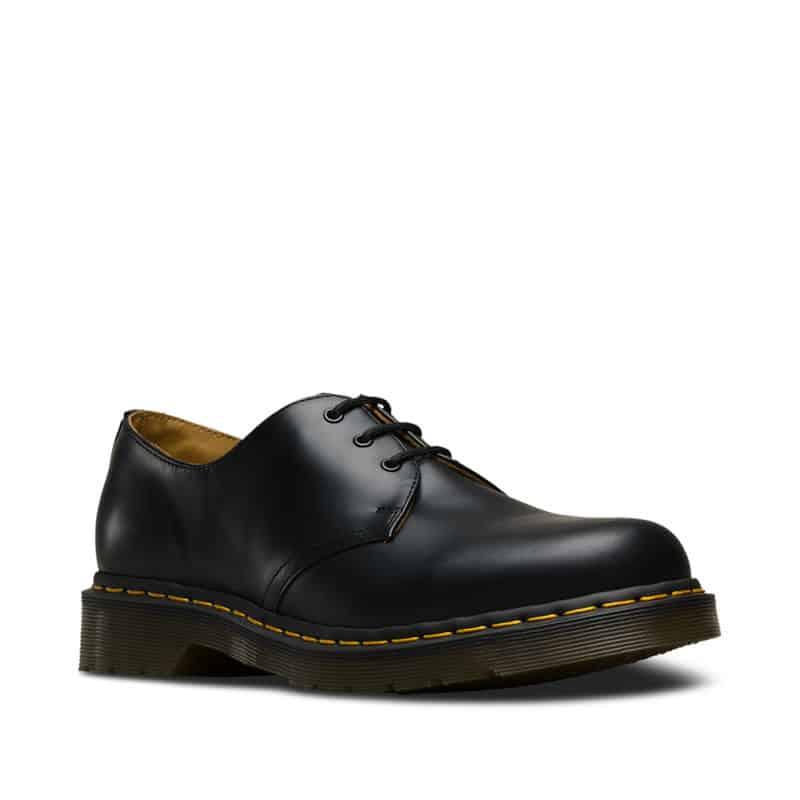 1461/11838002 Black Smooth 3-Eye Shoe 1