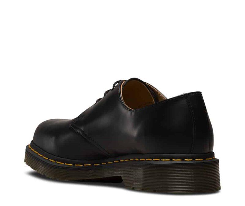 1461/11838002 Black Smooth 3-Eye Shoe 5