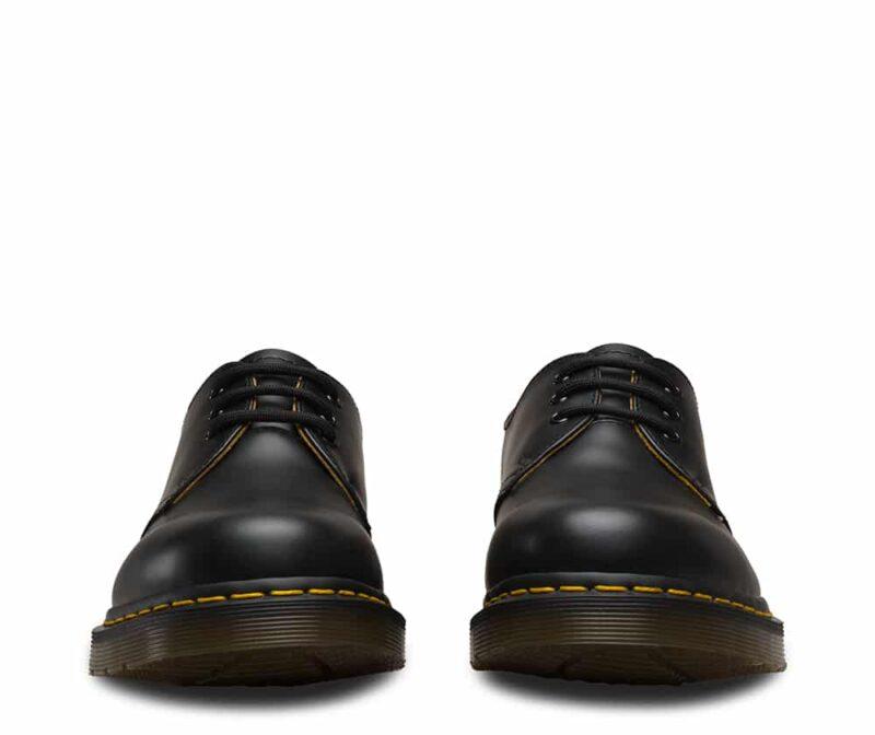 1461/11838002 Black Smooth 3-Eye Shoe 3