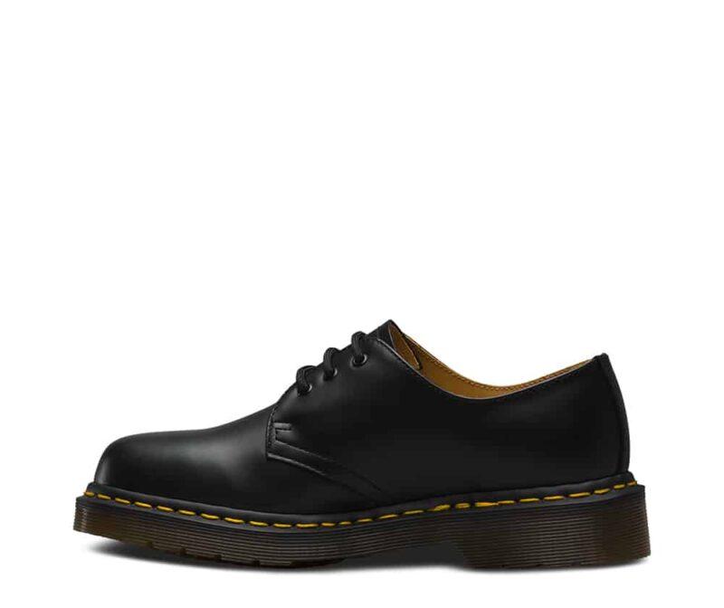 1461/11838002 Black Smooth 3-Eye Shoe 4