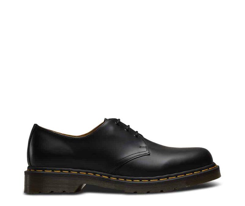 1461/11838002 Black Smooth 3-Eye Shoe 2