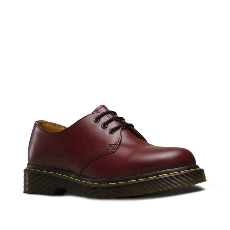 Dr. Martens 1461 Cherry Red Smooth 3-Eye Shoe