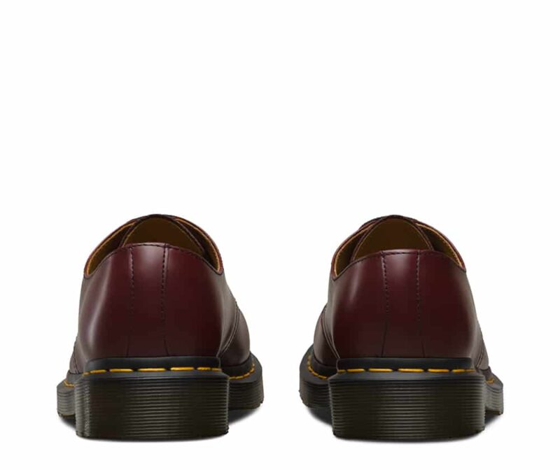 Dr. Martens 1461 Cherry Red Smooth 3-Eye Shoe 4