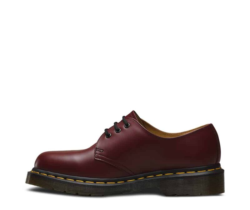 Dr. Martens 1461 Cherry Red Smooth 3-Eye Shoe 3