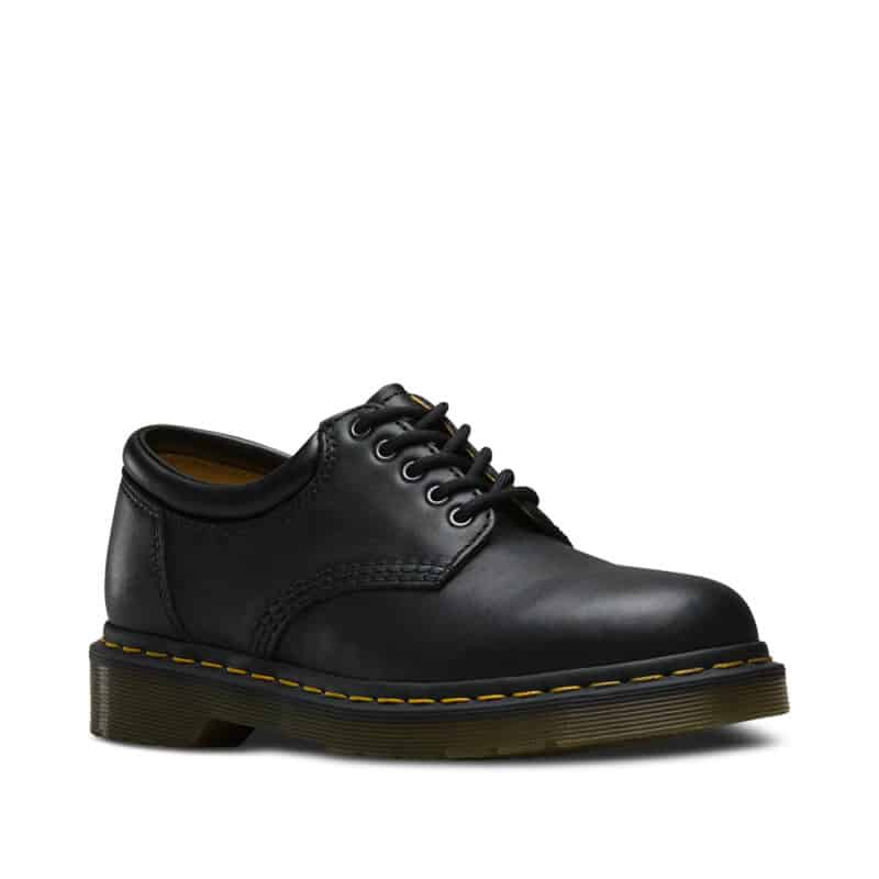 8053/11849001 Black Nappa 5-Eye Shoe 1