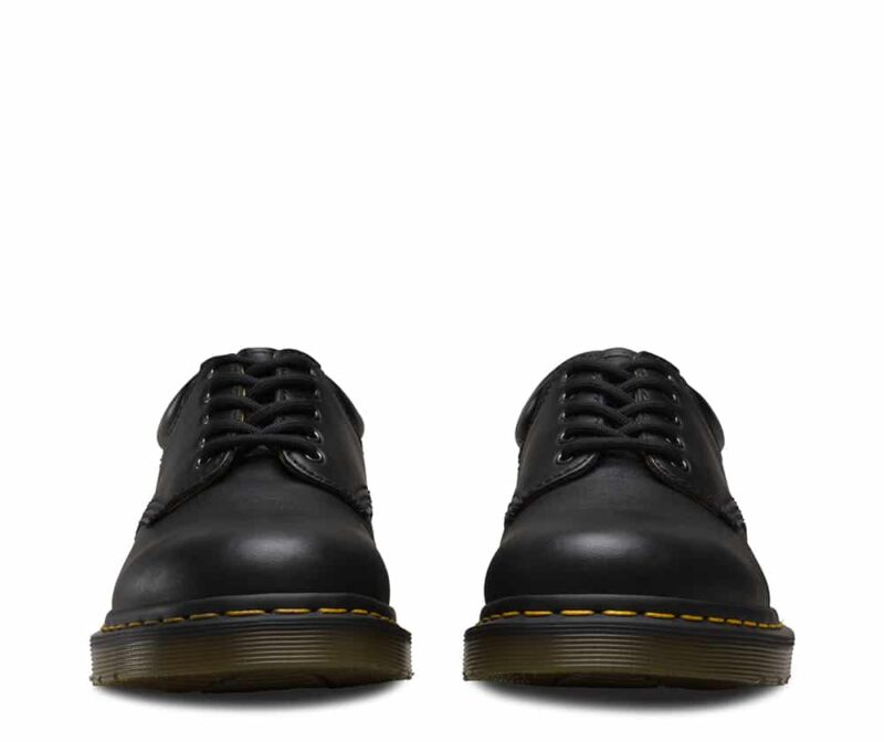 8053/11849001 Black Nappa 5-Eye Shoe 3