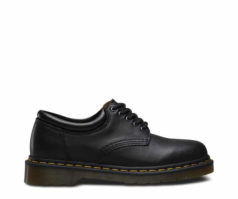 8053/11849001 Black Nappa 5-Eye Shoe 2