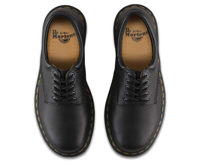 8053/11849001 Black Nappa 5-Eye Shoe 7