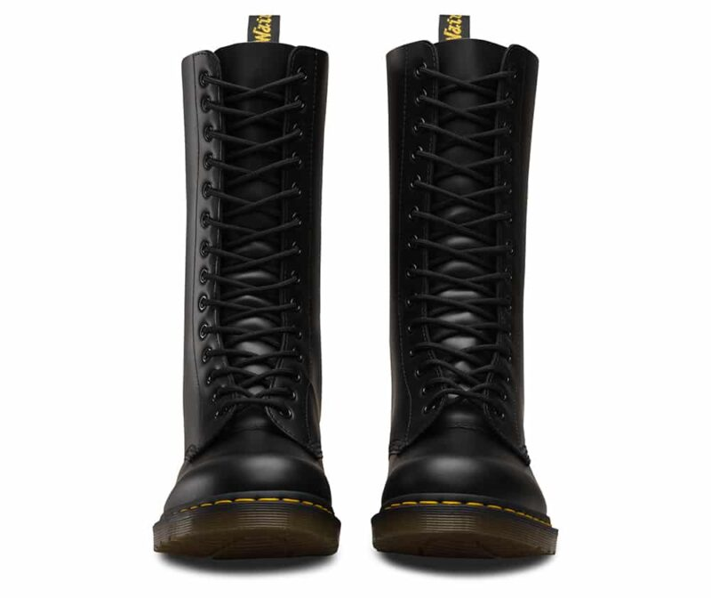 Dr. Martens 1914 Black Smooth 14-Eye Boot 2