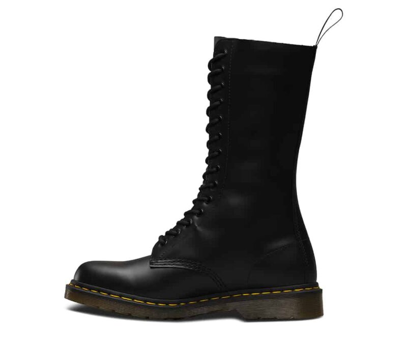Dr. Martens 1914 Black Smooth 14-Eye Boot 3