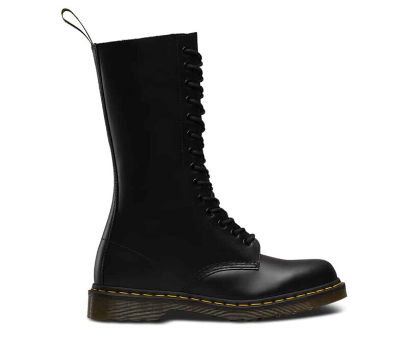 Dr. Martens 1914 Black Smooth 14-Eye Boot 1
