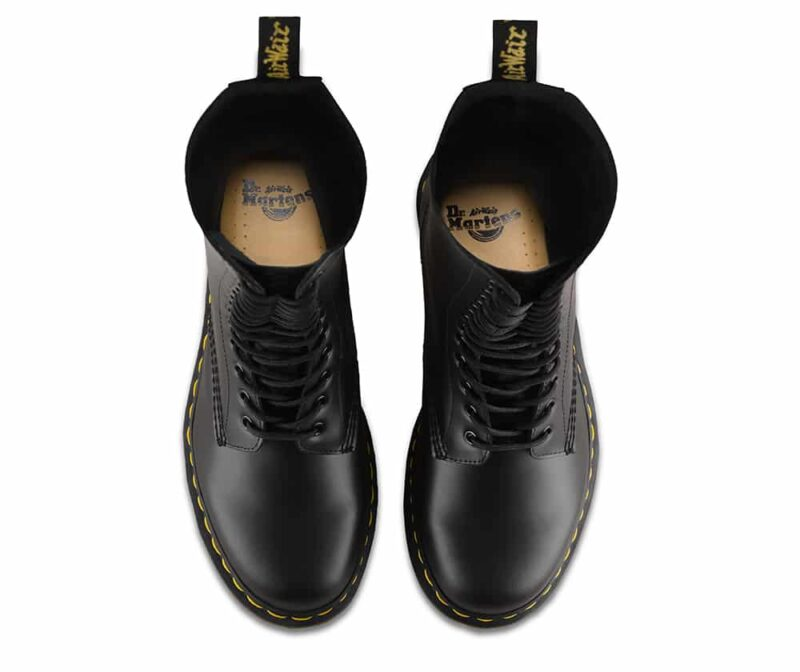 Dr. Martens 1914 Black Smooth 14-Eye Boot 6