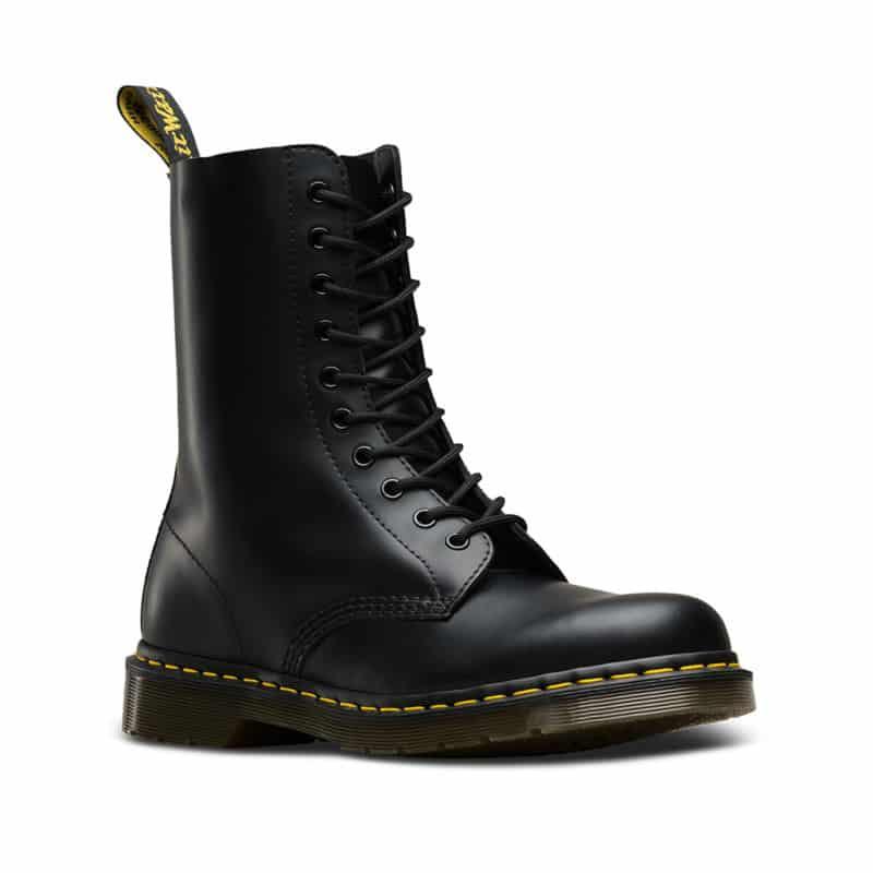 Dr. Martens 1490 Smooth Black 10 Eye Boot 1