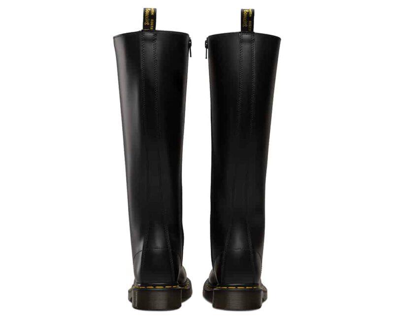 1B60/12270003 Black Smooth 20-Eye Boot 4
