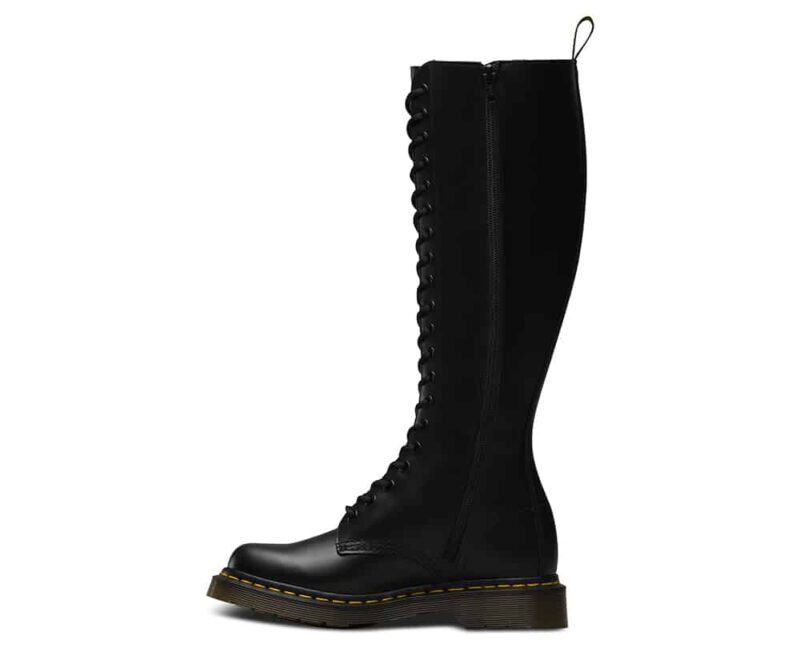 Dr. Martens 1B60 Black Smooth 20-Eye Boot 3