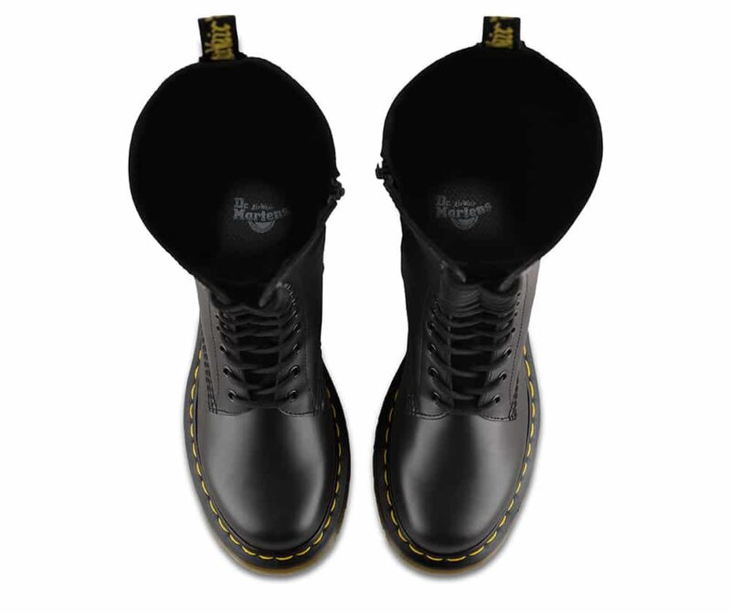 Dr. Martens 1B60 Black Smooth 20-Eye Boot 6