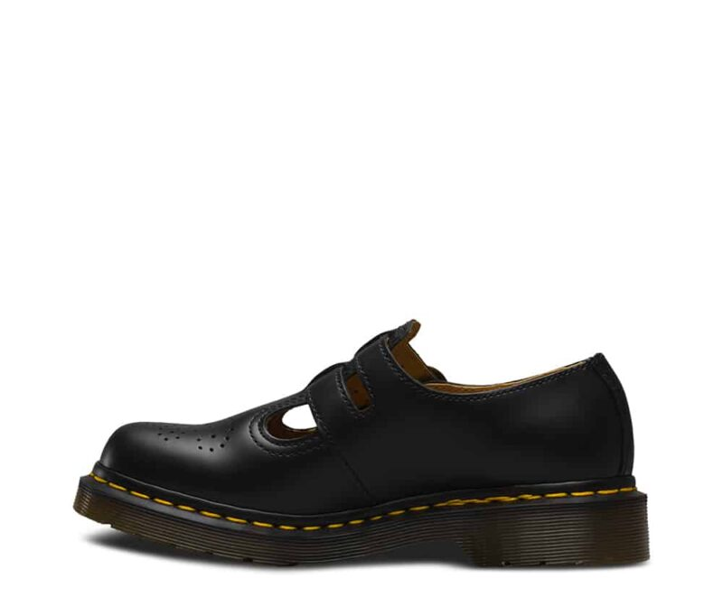 Dr. Martens 8065 Black Smooth Mary Janes 3