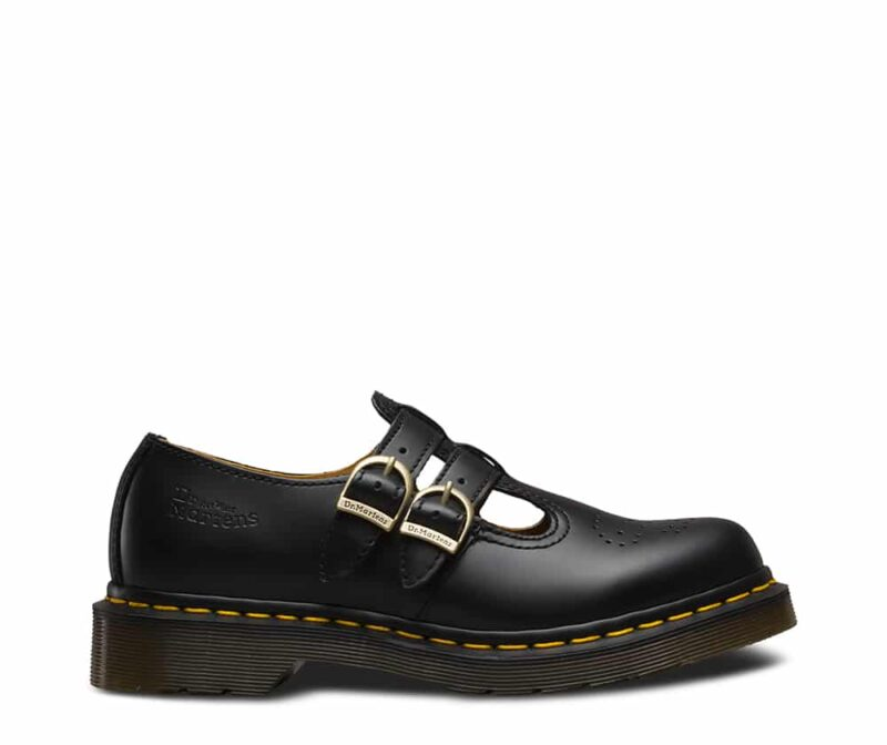 Dr. Martens 8065 Black Smooth Mary Janes 1
