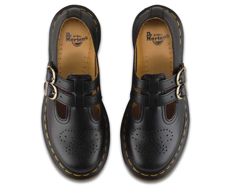 Dr. Martens 8065 Black Smooth Mary Janes 6