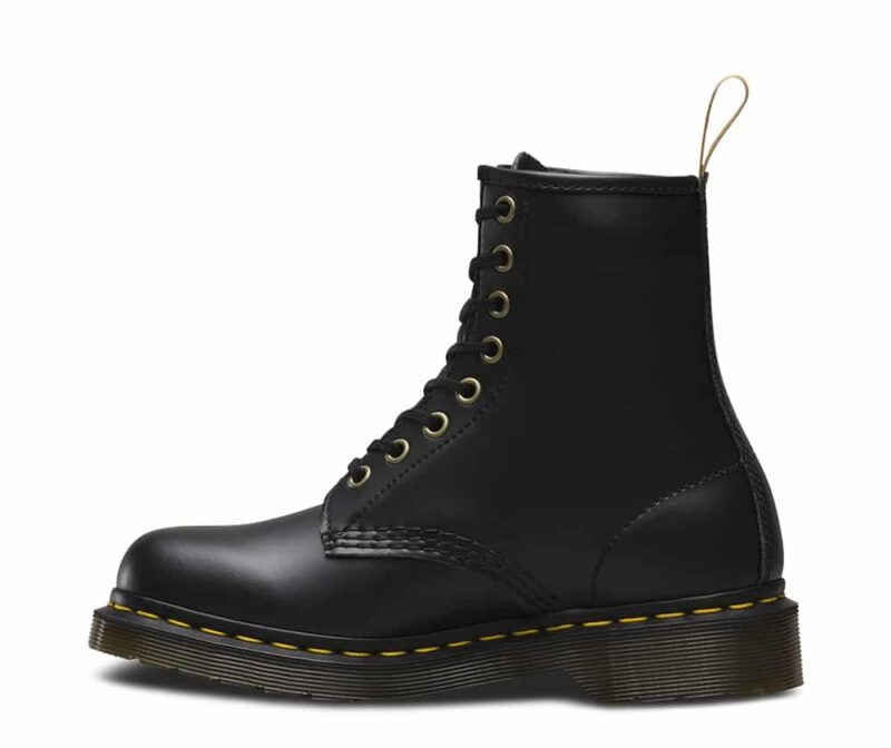 Dr. Martens 1460 Vegan Black Felix Rub Off 8-Eye Boot 3
