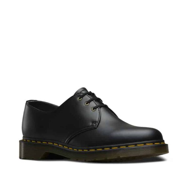 3989 Brogue BEX Black and White Smooth 3-Eye Shoe