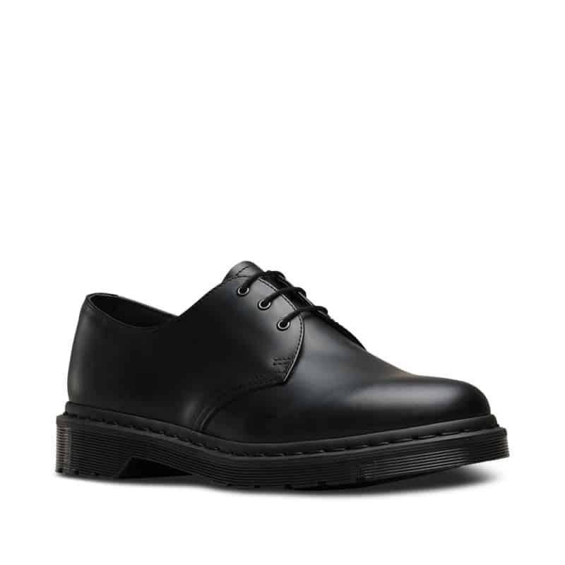 1461 Black Mono Smooth 3-Eye Shoe