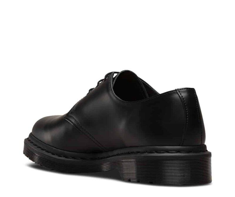 1461 Black Mono Smooth 3-Eye Shoe 4