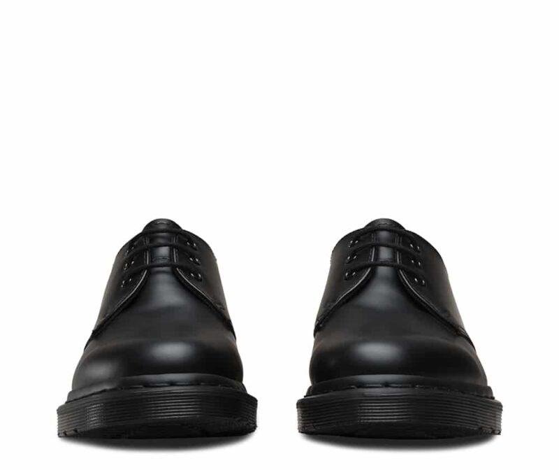 1461 Black Mono Smooth 3-Eye Shoe 2