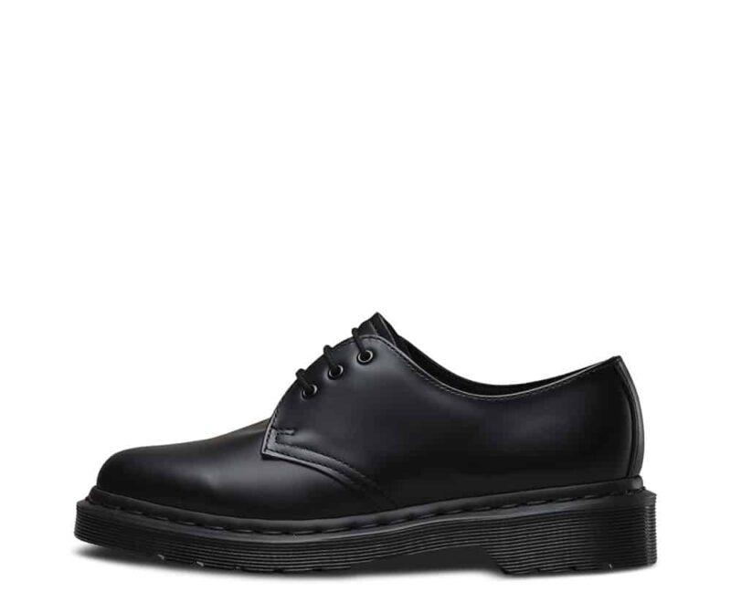 1461 Black Mono Smooth 3-Eye Shoe 3