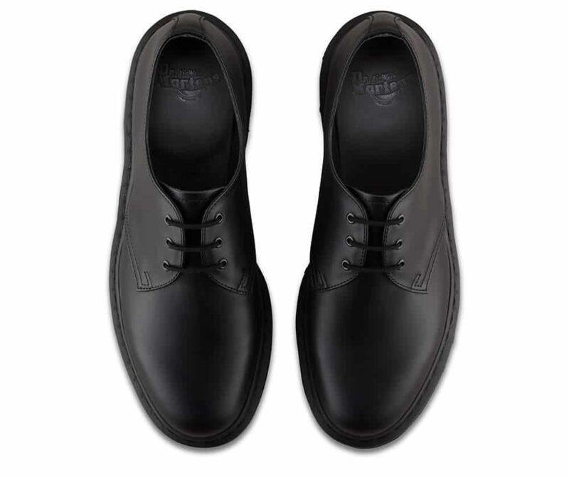1461 Black Mono Smooth 3-Eye Shoe 6