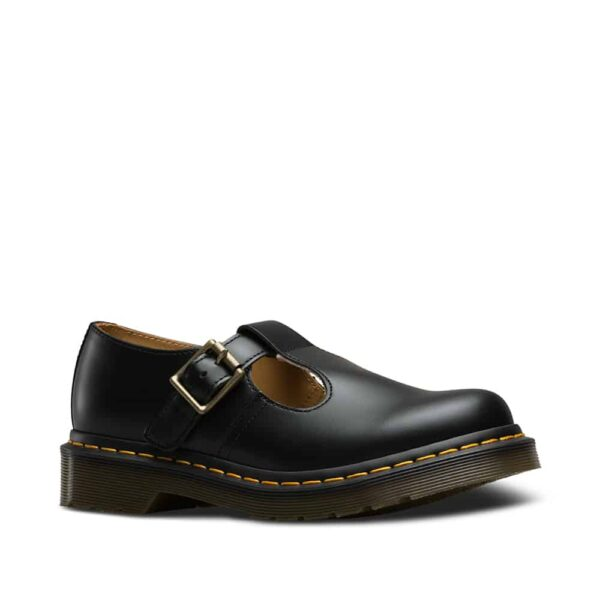 14852001 Polley Black Smooth Mary Janes