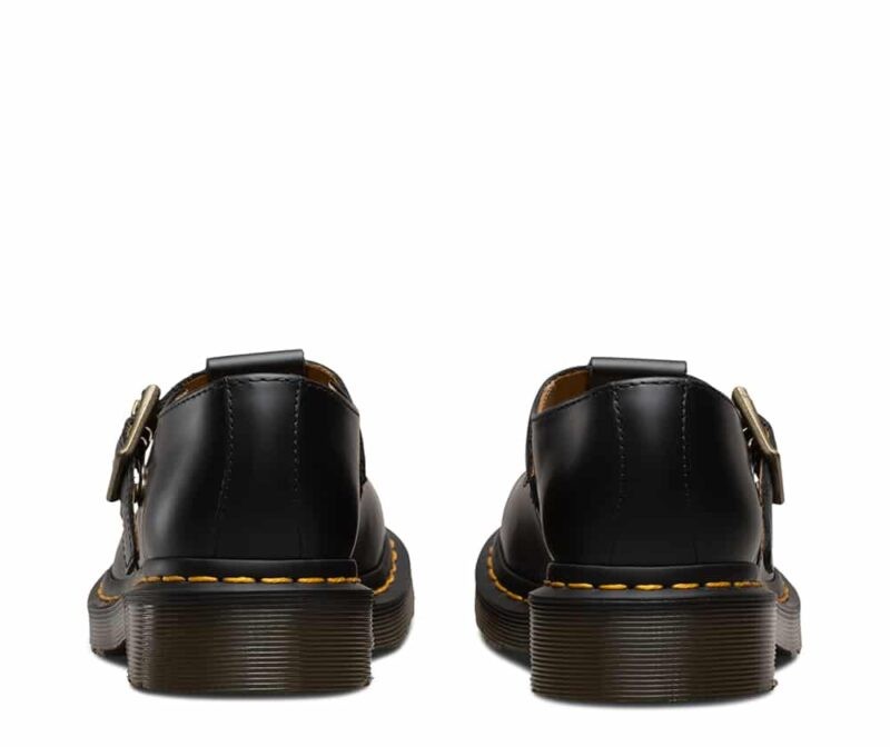 Dr. Martens Polley Black Smooth Mary Janes 4