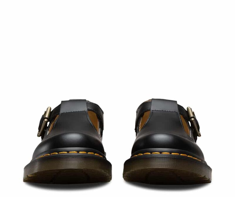 Dr. Martens Polley Black Smooth Mary Janes 2