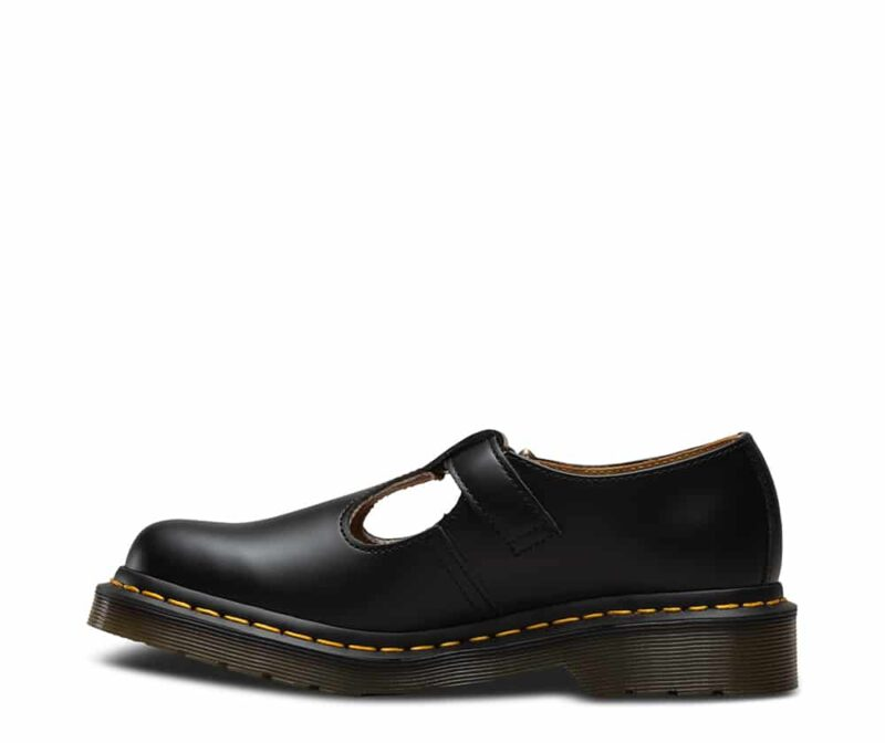 Dr. Martens Polley Black Smooth Mary Janes 3