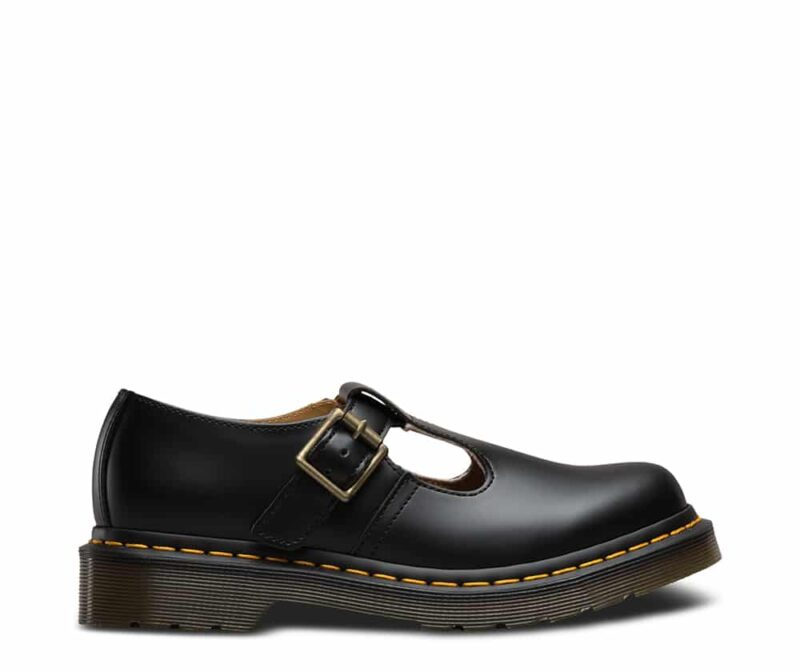 Dr. Martens Polley Black Smooth Mary Janes 1
