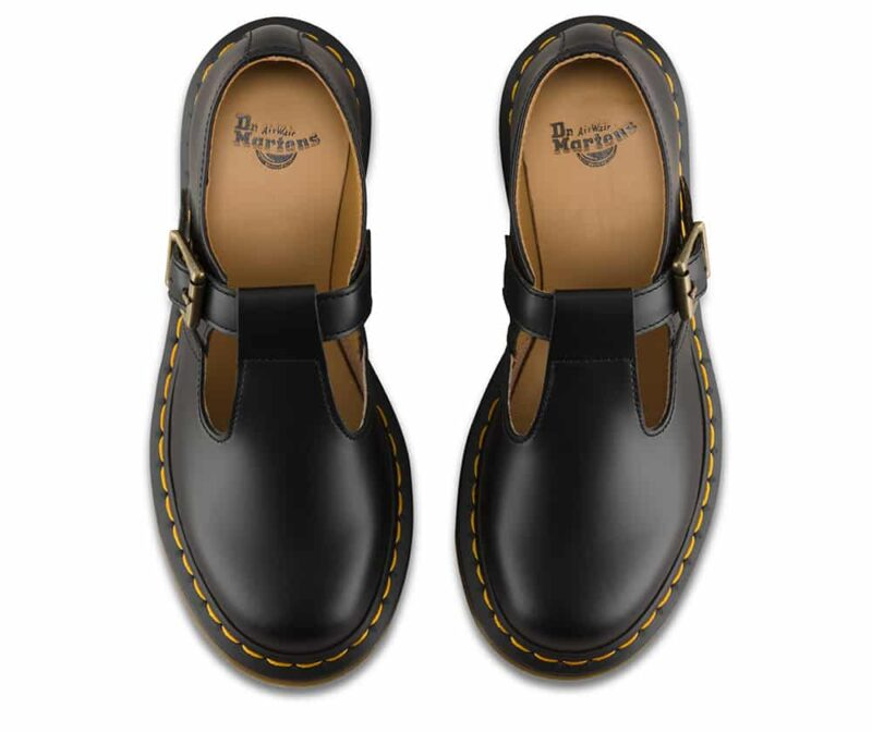Dr. Martens Polley Black Smooth Mary Janes 6