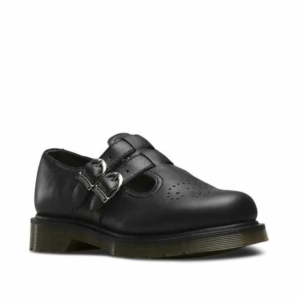 8065 Black Virginia Mary Janes