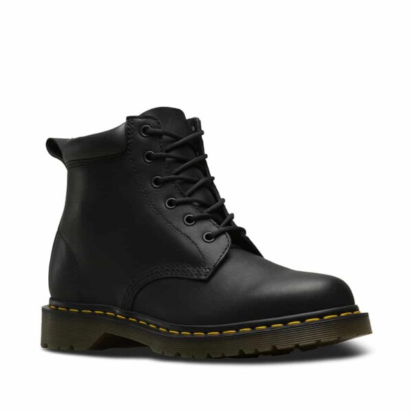 939 Black Greasy Hiker 6-Eye Boot