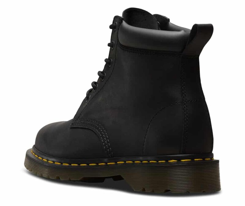 Dr. Martens 939 Black Greasy Hiker 6-Eye Boot 2