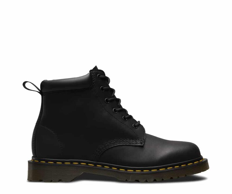 Dr. Martens 939 Black Greasy Hiker 6-Eye Boot 1