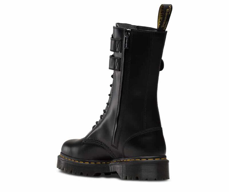 Dr. Martens Black Caspian Alt 12-Eye Boot 2