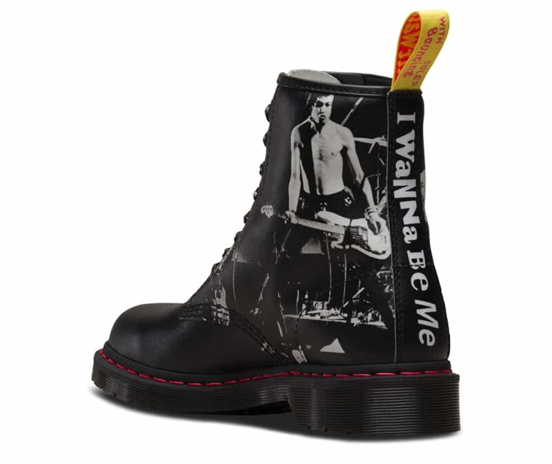 Dr. Martens 1460 Sex Pistols Vicious 8-Eye Boot 2