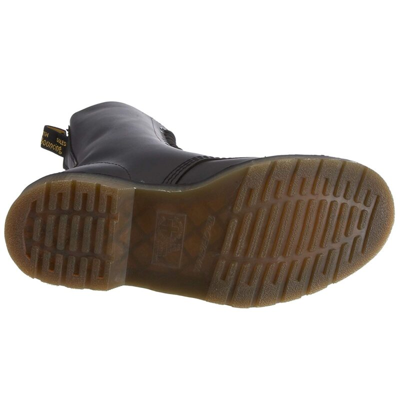 1940 Black Fine Haircell 14-Eye Steel Toe Boot 5