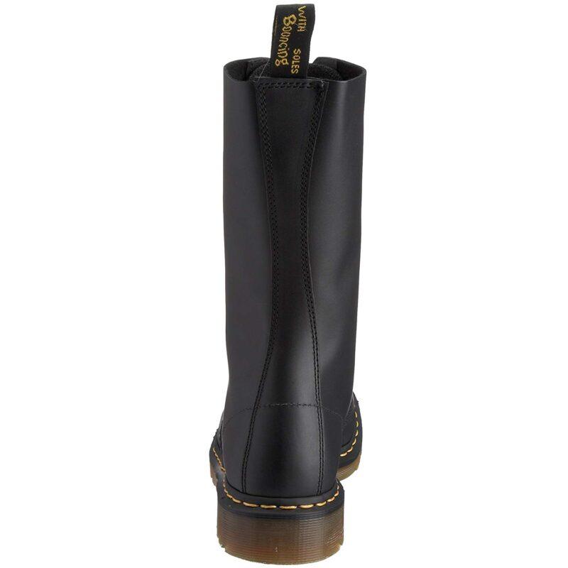 1940 Black Fine Haircell 14-Eye Steel Toe Boot 4