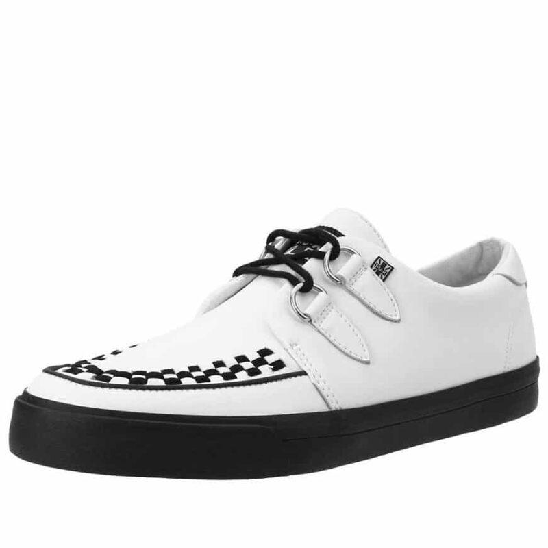 TUK White Sneaker Creeper A9179