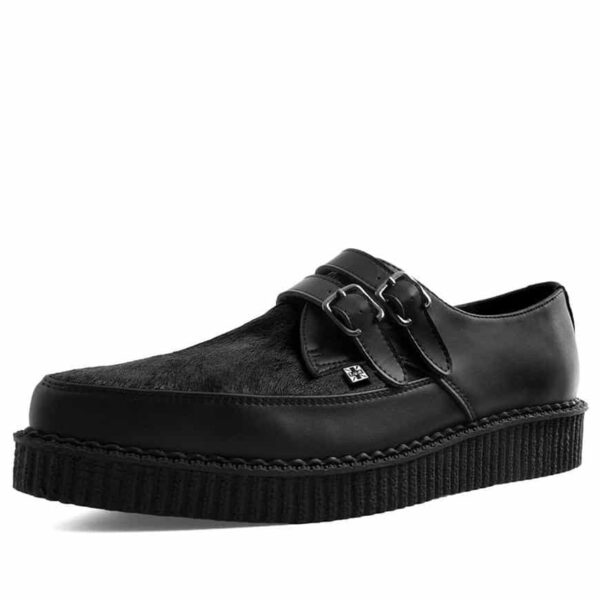 TUK Cowhair Buckle Pointed Creeper A9348