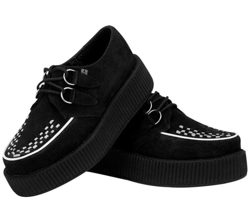 TUK Two Tone Suede Mondo Creeper V8366 2
