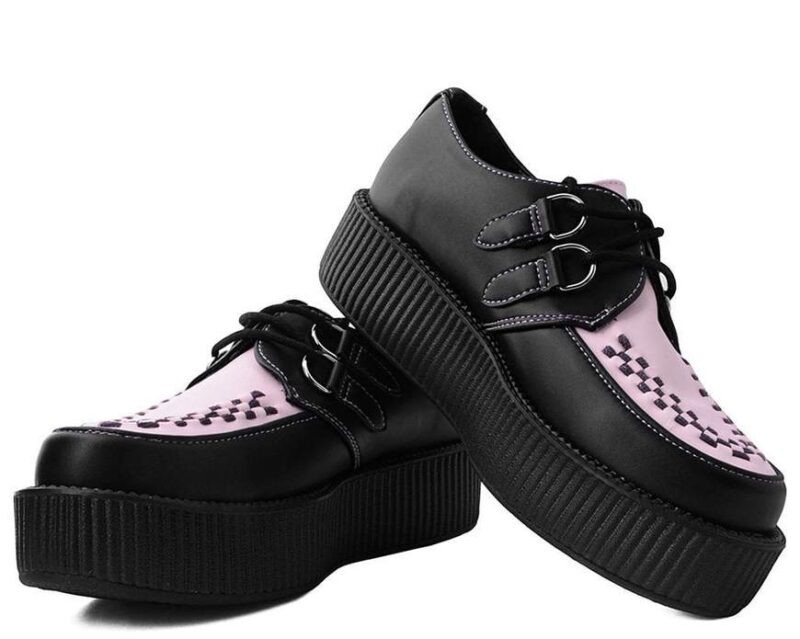 TUK Black and Pink Mondo Creeper V9564 1