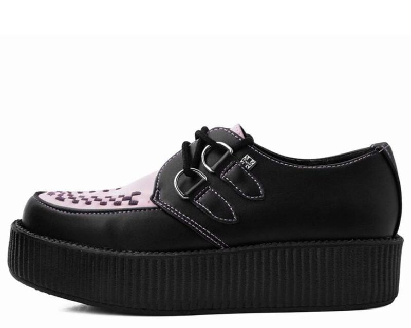 TUK Black and Pink Mondo Creeper V9564 2